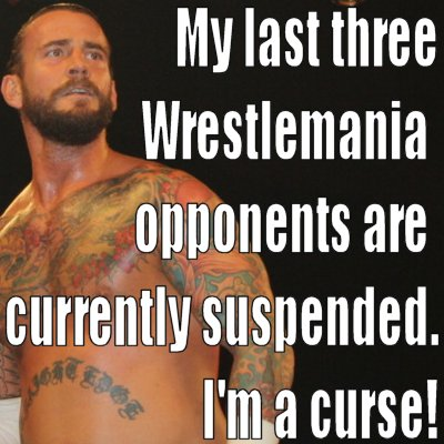 Cm punk is a curse 1 june 2012 hachland this guy named cm punk tweeted that quote voltagebd Images